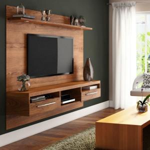 Painel para TV 60 Polegadas Toledo Ipê 182 cm - R$359
