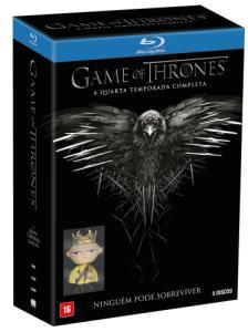 Blu-Ray Game Of Thrones - 4ª Temporada + Boneco Joffrey - Edição Limitada - 5 Discos - R$60
