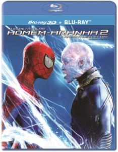 O Espetacular Homem-Aranha 2 - A Ameaça de Electro - Blu-Ray 3D + Blu-Ray - R$13