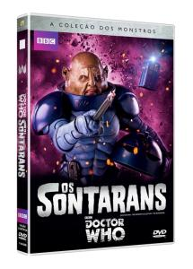 DVD Doctor Who - BBC - A Coleção Dos Monstros - Os Sontarans - R$8