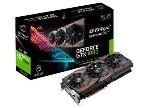 Placa de Vídeo Asus ROG Geforce GTX 1080 Strix Advanced Edition 8GB GDDR5 - R$ 2989