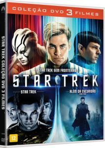 DVD Coleção Star Trek - 3 Filmes - 3 Discos - R$15