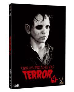 Coleções Obras Primas do Terror (box com 6 filmes) - R$35