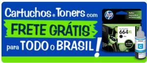 Frete grátis em cartuchos e toners na Kalunga pra todo o Brasil!