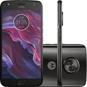 "Smartphone Motorola Moto X4 Dual Cam Android 7.0 Tela 5.2"" Octa-Core 32GB Wi Fi 4G Câmera 12MP - Preto - R$999"