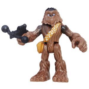 Mini Figura Articulada - Playskool Heroes - Star Wars - Chewbacca - Hasbro - R$10