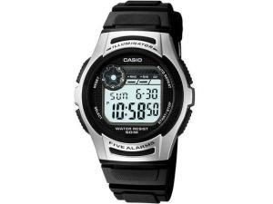Relógio Masculino Casio Digital - Resistente à Água Cronógrafo Mundial W-213-1AVDF por R$ 90