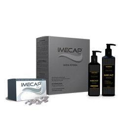 Kit Imecap Queda Intensiva Shampoo + Loção + Cápsulas - R$93