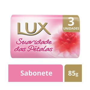 [BH] Kit Sabonete em Barra Lux Suavidade das Pétalas 85g 3 Unidades R$0,99
