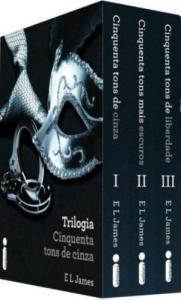 Livro | Box da Trilogia Cinquenta Tons de Cinza - R$45