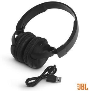 Fone de Ouvido Sem Fio JBL On Ear Headphone Preto - JBLT450BTBLK - JBLT450BTPTO_PRDR$ 159,70