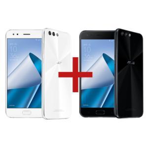 ZenFone 4 6GB/64GB Branco + Zenfone 4 3GB/32GB Preto - R$2199