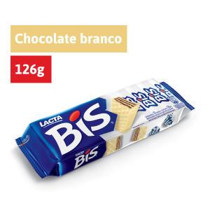Chocolate Bis Laka LACTA Caixa 126g com 20 unidades R$ 2,79