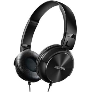 Headphone Philips P2, Driver 32mm, Preto - SHL3060BK - R$43