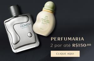 Perfumaria Natura 2 por até R$150