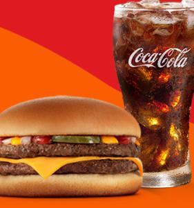 McDuplo + Bebida 500ml no McDonald's - R$9,90