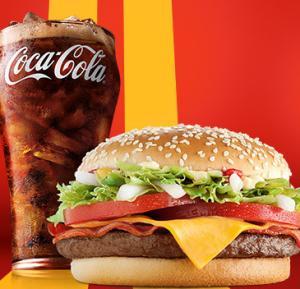 McDonald's Passa no Drive - McNifico Bacon + Bebida 500ml - R$17
