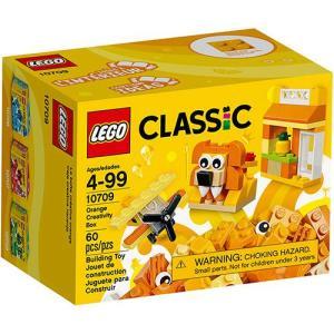 LEGO Classic - Caixa de Criatividade Laranja - 10709 - R$25