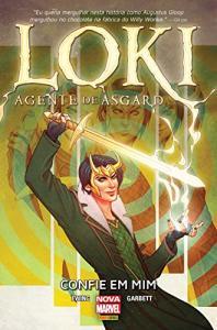 HQ | Loki, Agente de Asgard (capa dura) - R$12