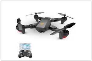 VISUO XS809W Versão Atualizada XS809HW 2.4G Quadcopter RC Foldable Wifi FPV Selfie Drone - RTF por R$