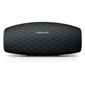 Caixa de Som Portátil Philips EverPlay BT6900B/00 à Prova d'Água e Bluetooth - Preta - R$149
