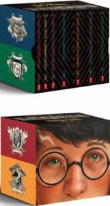Livros em inglês | Harry Potter, por J.K. Rowling - Books 1-7 Special Edition Boxed Set - R$187