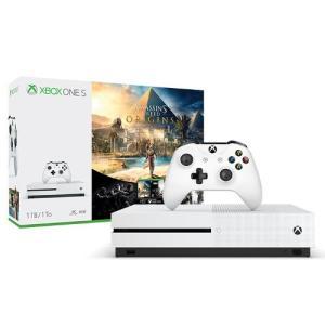 Console Microsoft Xbox One S 1TB + Jogo Assassins Creed e Rainbow Six - R$ 1.029,00 em até 6x sem juros