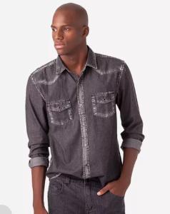 Camisa Jeans Foxton - R$49,50