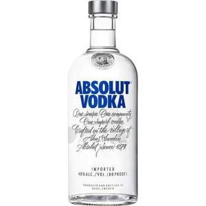 Vodka Absolut Original - 750ml   R$ 34,68