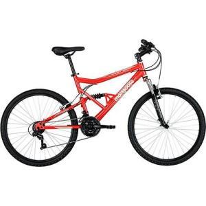 Bicicleta Mongoose Full Edge Aro 26 21 Marchas - Vermelho   R$ 399,99