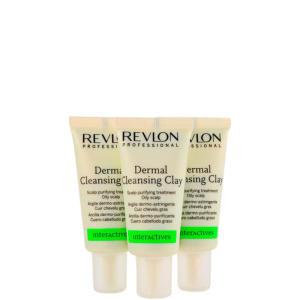 Revlon Professional Scalp Balance Dermal Cleansing Clay - Tratamento 3x18ml R$39