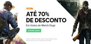 Watch Dogs - Até 70% de desconto (UPLAY)