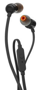Fone de Ouvido Intra Auricular Com Microfone JBL T110 Preto - R$27