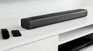 Soundbar JBL Studio 2.0 Canais com Bluetooth, Som Surround e Entrada HDMI - 26W | R$569
