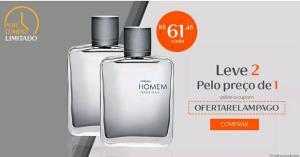 Desodorante Colônia Natura Homem Madeiras - R$ 61,45