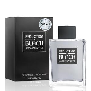Perfume Seduction In Black Masculino Antonio Banderas Eau de Toilette 200ml - R$106