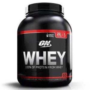 Whey 100% 2,04kg (4,5LB) Baunilha Optimum Nutrition por R$198