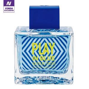 Perfume Play In Blue Seduction Masculino Antonio Banderas EDT 100ml - Incolor
