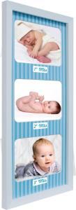 Painéis Baby Love Azul Para 3 Fotos - 10X15 R$14