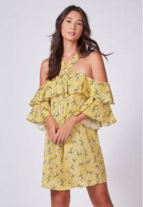 Vestido Floral Más - R$ 71,20