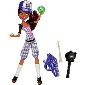 Boneca Monster High Esporterror Clawdeen - Mattel R$49
