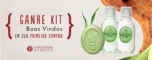Ganhe um kit de boas-vindas na primeira compra acima de R$100 [LOCCITANE AU BRÉSIL]