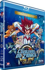 Blu-Ray Os Cavaleiros do Zodíaco - Ômega - 2ª Temporada - Vol. 1 - R$31