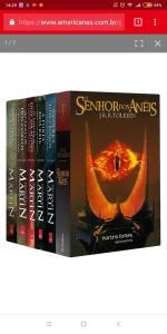 Box de Livros - O Encontro dos Clássicos: Game of Thrones & Senhor dos Anéis