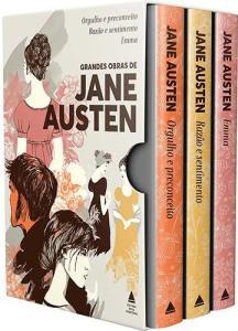 Box Grandes Obras de Jane Austen (3 Volumes) - R$ 44,99