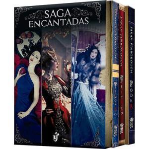 Box - Saga Encantadas, por Sarah Pinborough - 3 livros, Edição Econômica - R$7