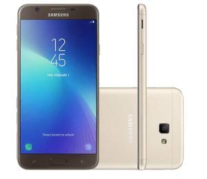 """Smartphone Samsung Galaxy J7 Prime 2 Dual Chip Android 7.1 Tela 5.5"""" Octa-Core 1.6GHz 32GB 4G Câmera 13MP com TV - Dourado"""