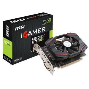 Placa de vídeo MSI iGamer Geforce GTX 1060 6GB GDDR5 - R$ 1300