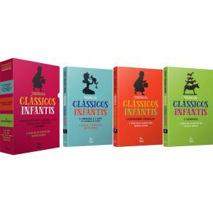 Livro - Box Essencial: Clássicos Infantis (Contos dos Irmãos Grimm 3 Volumes)  - R$12