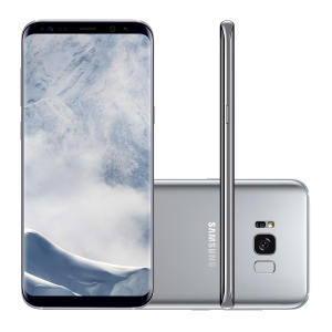 "Smartphone Samsung Galaxy S8+ 64GB Tela 6.2"" Câmera 12MP Android 7.0. por R$ 2400"